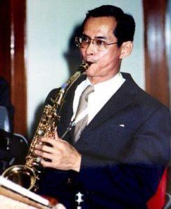 King Rama 9 Saxophone